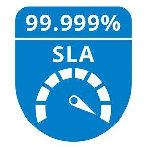 99.999 % SLA